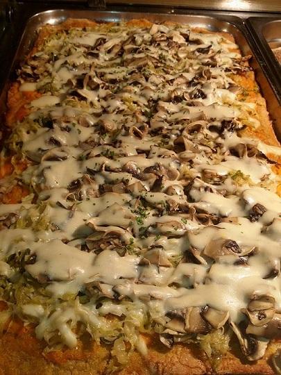 Pizza Vegan Formaggio e Funghi
