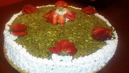 torta pistacchi di bronte