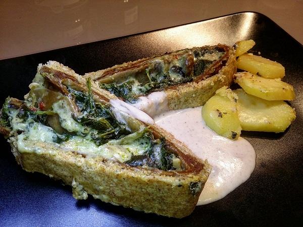 Bon Roll con Formaggio Vegano Fatto in Casa