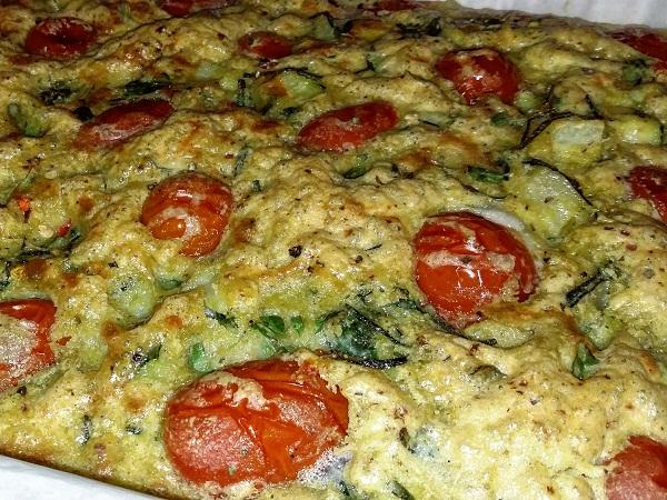 Frittatone Vegano Gourmet Senza Glutine con Verdure KM Zero - Work in Progress