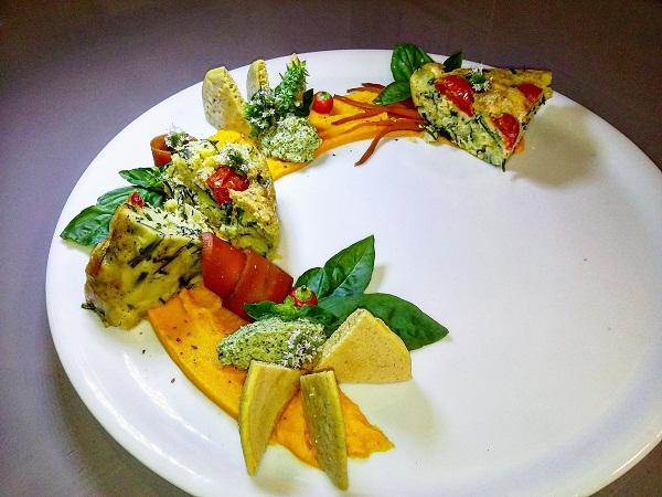 Frittatone Vegano Gourmet Senza Glutine con Verdure KM Zero