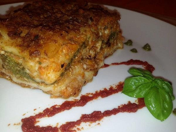 Lasagne Vegane con Ragu di Verdure
