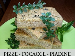 Pizze Focacce Piadine Vegane