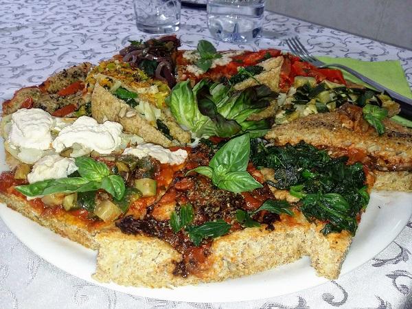 Pizze Vegane Integrali Varie