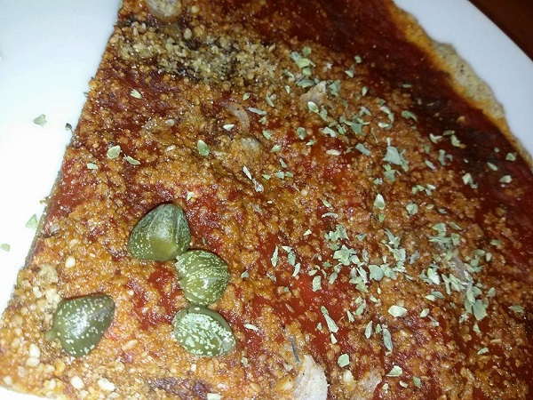 Pizzette Integrali Ultrasottili con Semi di Canapa e Gomasio