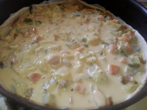 Quiche Vegana Work in Progress