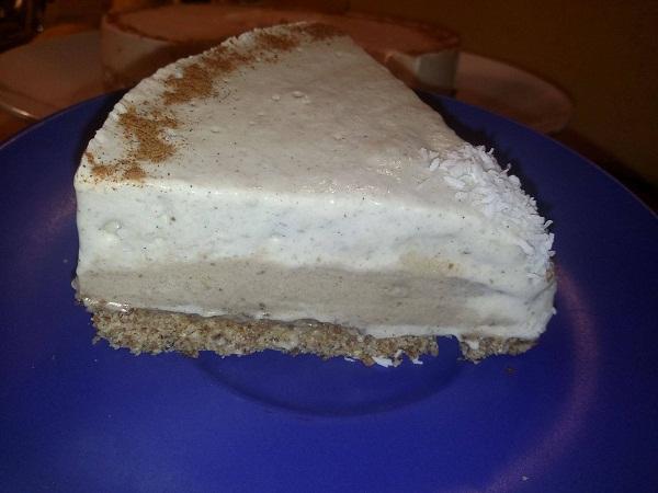 Torta Crudista Cocco Macadamia Maca