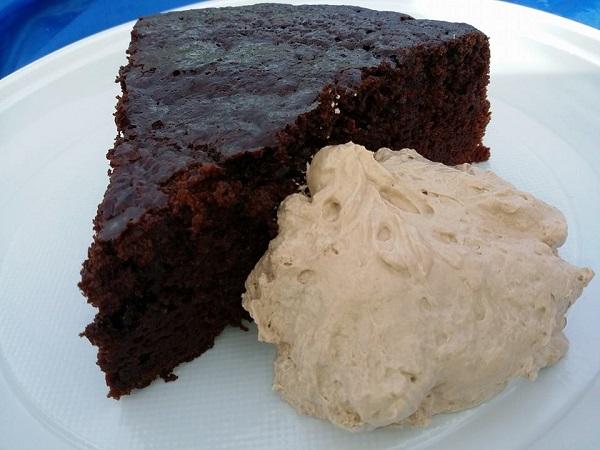 Torta Vegan con Mousse